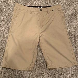 Khaki Hurley Shorts